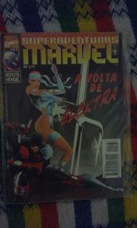 Hq Superaventuras Marvel 167 - A Volta De Elektra