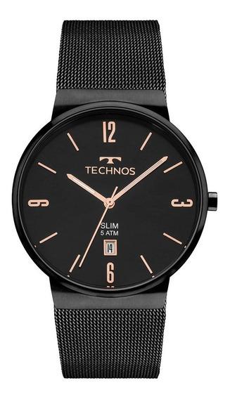 Relógio Technos Unissex Slim Gm10yj/4p