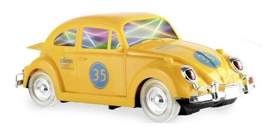 Carrinho Bate Bate Fusca Amarelo - Zoop Toys Zp00221