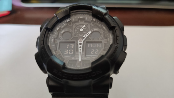 Relogio Casio G-shock Ga 100 Original