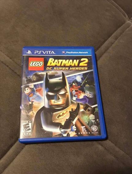 Jogo Original Ps Vita Lego Batman 2 Em Mídia Física