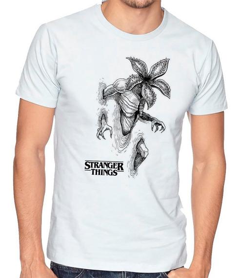 Playera Camiseta Stranger Things Demogorgon Demodogo Bate Hombre Niño 636