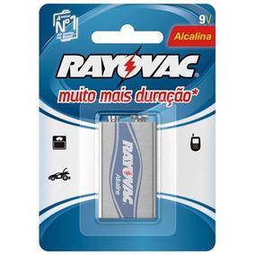 Bateria 9v Alcalina - Rayovac