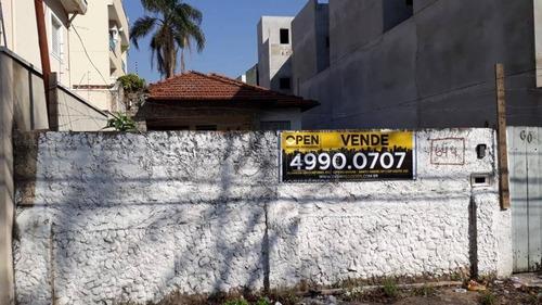 Imagem 1 de 8 de Terreno À Venda, 400 M² Por R$ 1.000.000,00 - Vila Pires - Santo André/sp - Te0150