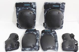 Kit De Protección Rodillera,reforzado Camuflage. Talla M Y L
