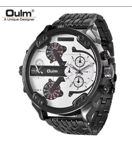 Relógio Oulm Original Big Dial