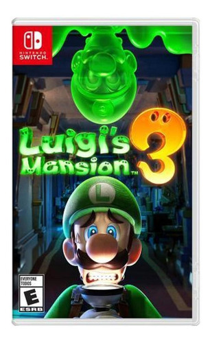 Luigi's Mansion 3 Switch Midia Fisica Lacrado Novo Original