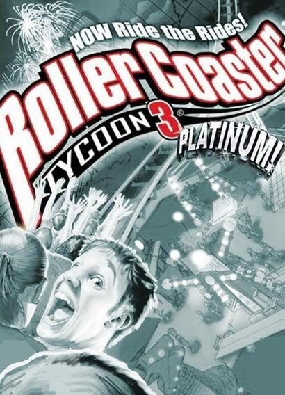 Roller Coaster Tycoon 3 Todas Expansões Mac Mídia Digital