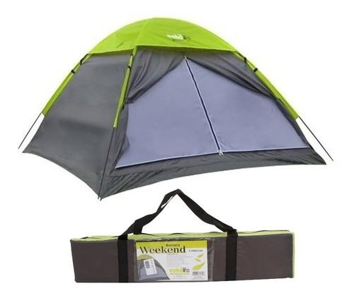 Barraca De Camping 3 Pessoas Acampamento Weekend Echolife