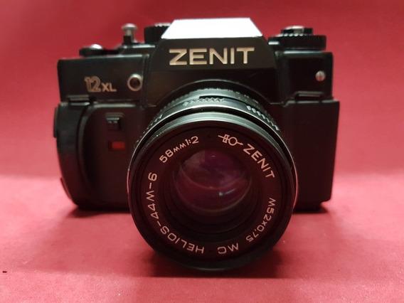Câmera Fotográfica Zenit 12xl Funcionando