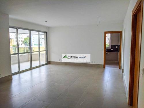 Apartamento Com 4 Dormitórios À Venda, 145 M² Por R$ 1.650.000,00 - Anchieta - Belo Horizonte/mg - Ap1612