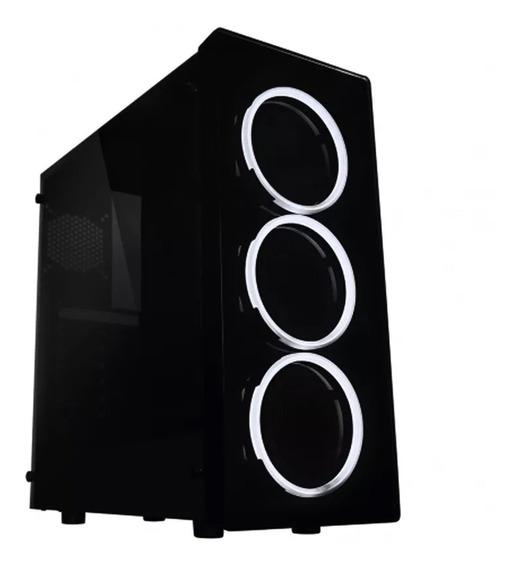 Gabinete Gamer Raidmax Neon Atx Acrilico Led G21lwb