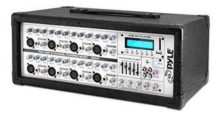 Mezclador Alimentado Por Sistema De Micrófono De 8 Canales -