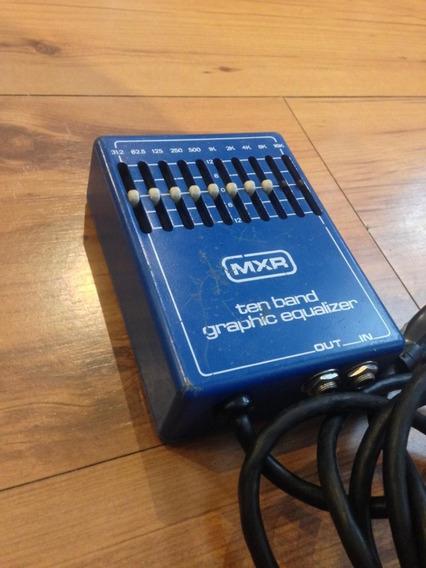 Equalizador Grafico Mxr M108 Ano 1976 - Usado