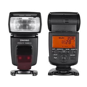 Flash Yongnuo Yn-568ex Ili Para Câmeras Fotográficas Canon