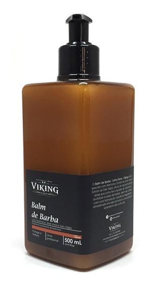 Balm De Barba Viking Linha Terra Profissional 500ml Atacado