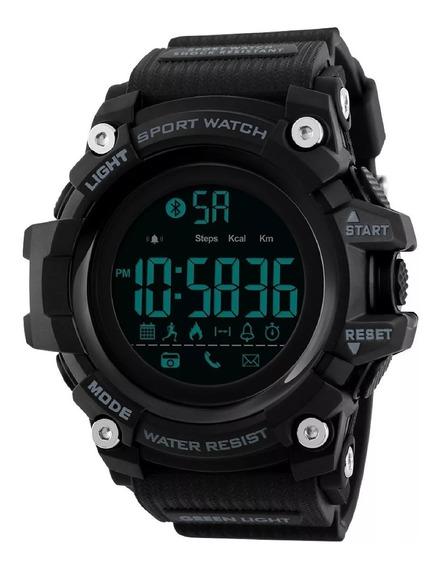Reloj Skmei 1385 Inteligente Bluetooth Podometro Sumergible