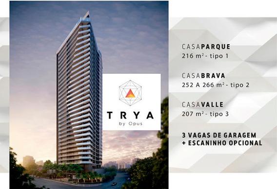 Lançamentos Trya By Opus - Apartamentos 207m2, 216m2, 266m2