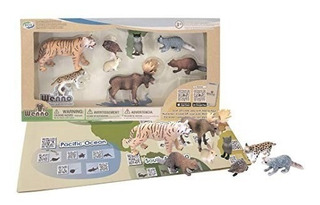 Wenno Set Animales Salvajes Eurasia Int 35100 Original Wabro