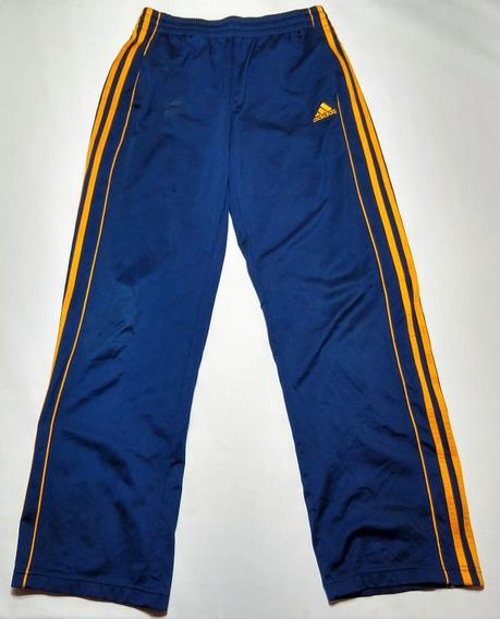 Pantalon Largo adidas Azul Y Amarillo Sintetico