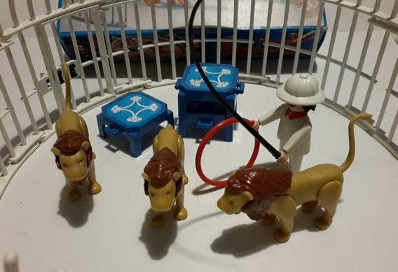 Playmobil N°3517 Leones De Circo De Los 80