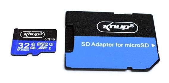 Micro Sd Ultra 32gb Classe 10 80mbs Original Com Adaptador