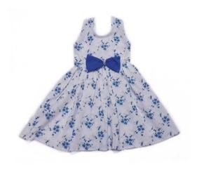 Vestido Infantil Lola Estampado Pronta Entrega