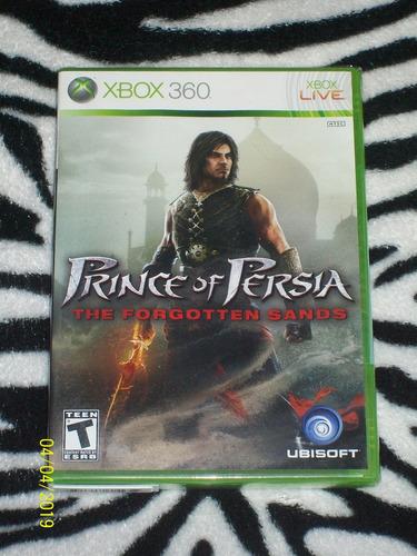 Prince Of Persia Forgotten Sands Nuevo Fisico Y Sellado Xbox