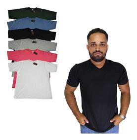 Camisetas Basicas Malha Pv Kit C/ 6 Anti-pilling