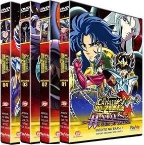 Os Cavaleiros Do Zodíaco : Hades A Saga Do Inferno - 4 Dvds
