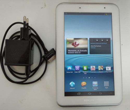 Tablet Samsung Galaxy 7  Gt-p3110 Branco - Usado