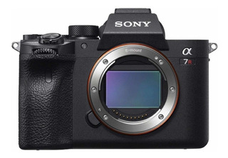 Sony Alpha 7R IV sin espejo negra