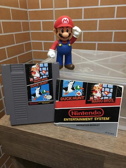 Mario Bros Nes Nintendo Cartucho Duck Hunt Game Original