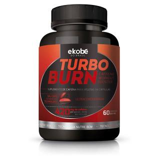 Turbo Burn - Suplemento De Cafeína Em Cápsulas - 1 Frasco 60