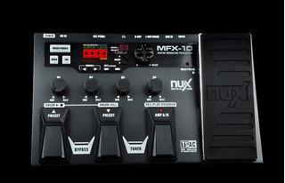 Pedalera Procesasor De Efectos Nux Mfx10 By