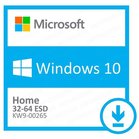Windows 10 Home 32/64 Esd Download (kw9-00265)