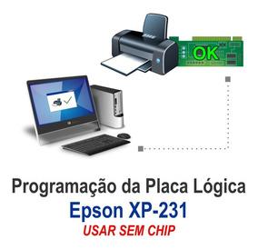 Programação Key Firmware Epson Xp-231 - Usar Sem Chip