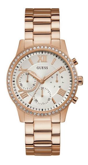 Relógio Feminino Guess Rosé 92686lpgdra6 Original C/ Nfe