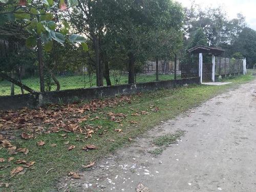 Chácara Cercada No Jardim Coronel - Itanhaém 4663 | Sanm