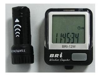Velocimetro Echowell Bri-12w S/fio - Ciclocomputador De Bike