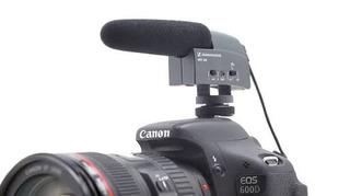 Micrófono Sennheiser Mke400 Cámara Video Nuevo Envío Grafis