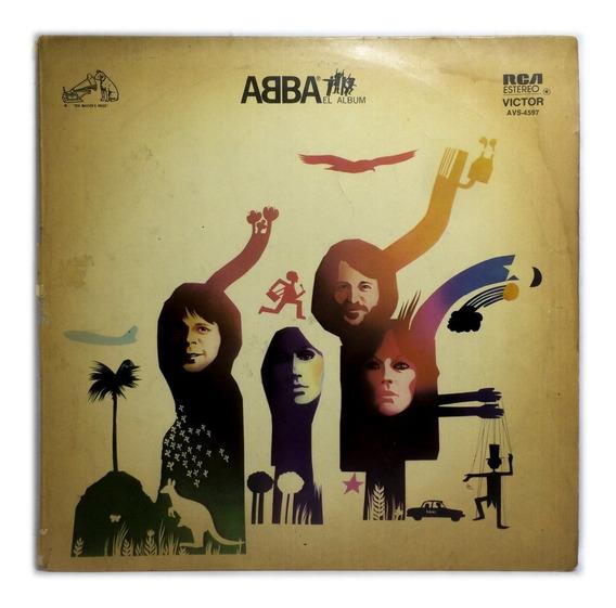Vinilo Abba El Album Lp Argentina 1978