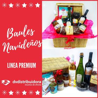 Caja Navideña Baul Premium 2019 Modelo Gold