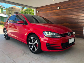 Vw Golf Gti Exclusive + Teto Solar Panorâmico 2.0 Tsi 220v