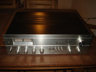 Amplificador Stereo Philips Sound Project A8000 Excelente!!