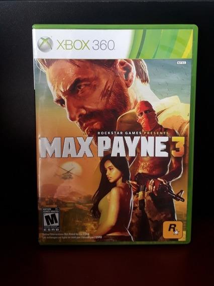 Max Payne 3 Xbox 360 Semi Novo Original