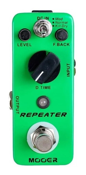 Repeater Mdl1 Mooer Micro Pedal De Delay Outlet