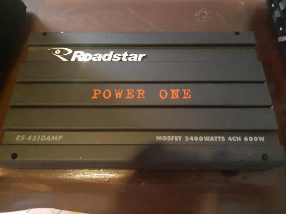 Modulo Amplicador Potencia Roadstar Power One 2400 Original