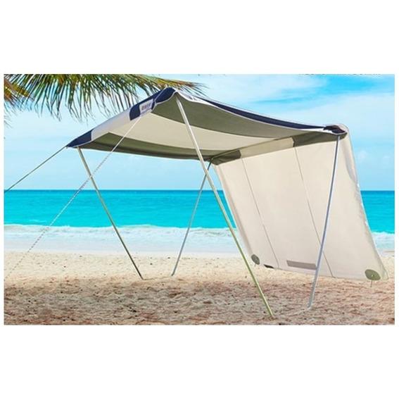 Tenda Gazebo Riviera Camping Praia 2,3x2,3m + 1 Lateral Zaka