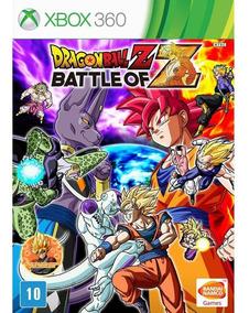 Dragon Ball Z Battle Of Z - Xbox 360 - Novo - Midia Fisica